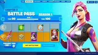 SEASON 11 BATTLE PASS TIER 100 SKIN UNLOCKED! Fortnite Chapter 2 Season 1!