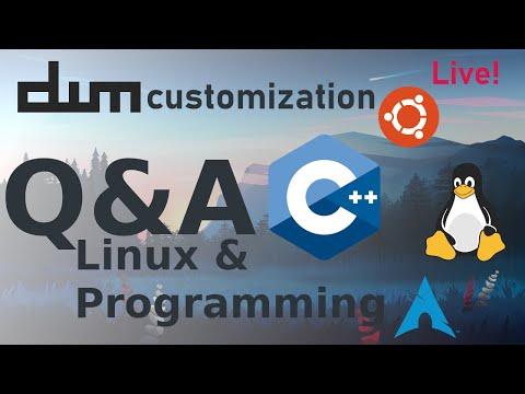 DWM Customization For The First Time - Linux/Programming Q&A | [Part 2] (Ubuntu Minimal)