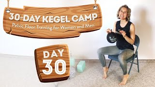 The Ultimate Pelvic Floor Workout (w/ Balloon!) 🏕️ At-Home Kegel Camp, Day 30