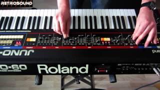 Roland Juno-60 - sound design tutorial - Vangelis Spiral