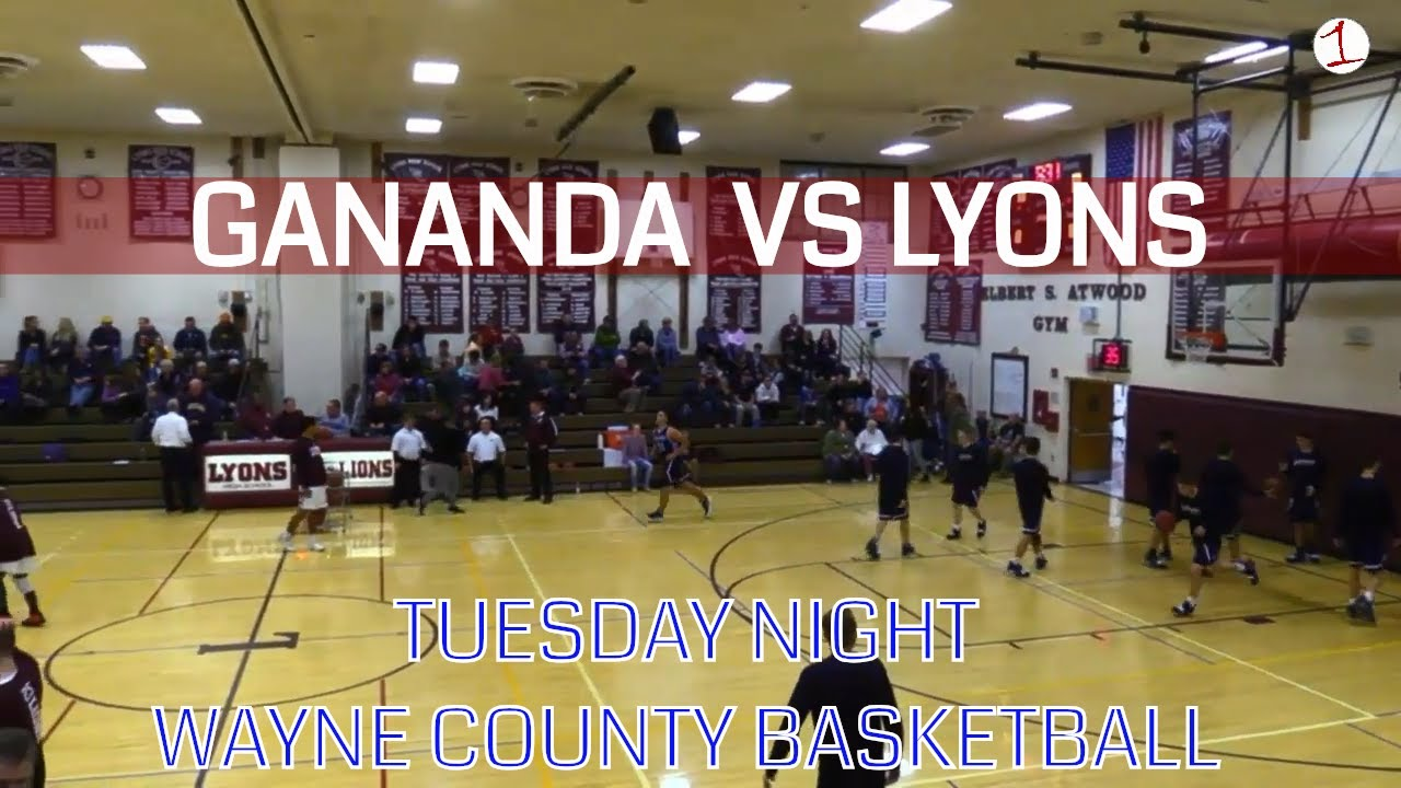 Gananda Blue Panthers vs. Lyons Lions .::. FL1 Sports Wayne County Basketball 1/15/19