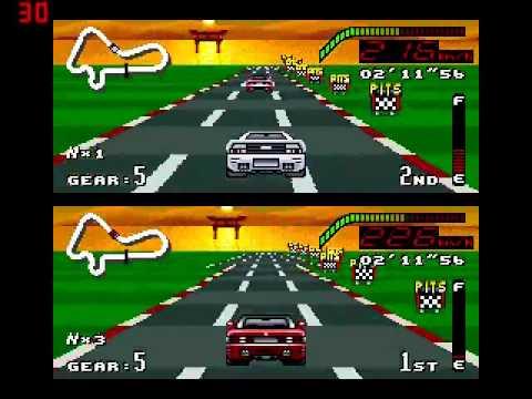 Top Gear Juego De Carritos Super Nintendo Tercera Parte Youtube
