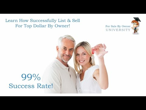 How To For Sale By Owner - For Sale By Owner University 101 Webinar