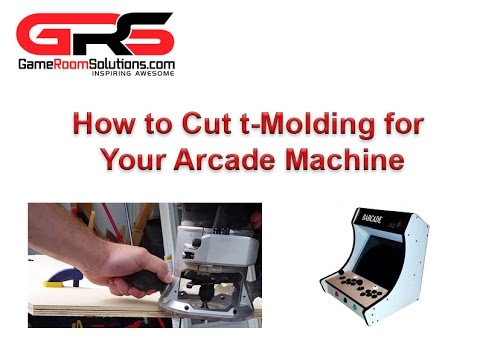How to Cut T Molding Slots for an Arcade Machine