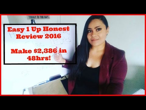 Easy 1 Up Review [Easy 1 Up Free Rotator] $2,386 in 48 hrs!