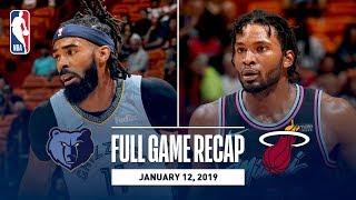 Full Game Recap: Grizzlies vs Heat | MEM & MIA Battle Down The Stretch