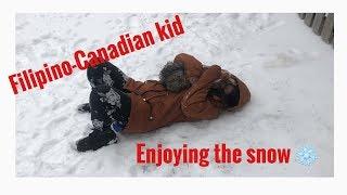 Vlog 01| SNOW in Canada