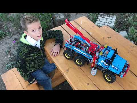 ПЕРВАЯ МОДЕЛЬ!!! LEGO TECHNIC 42070 Аварийный внедорожник 6х6 1862 детали