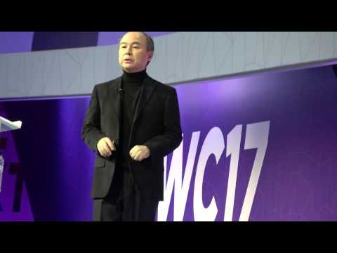 Globalfuturist.org: Softbank CEO, Masayoshi Son Keynote at MWC 2017