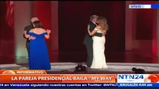 Donald y Melania Trump eligen 'My Way' de Frank Sinatra para su primer baile presidencial