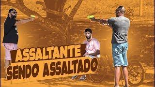 PEGADINHA - ASSALTANDO O ASSALTANTE! #DESAFIO 84