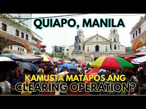 MATAPOS ANG CLEARING OPERATION, LAGAY NG QUIAPO PAG BIYERNES (QUIAPO DAY)