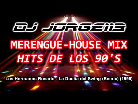 Dj jorge113 merengue house mix hits de los 90 39 s 1993 for 90s house hits