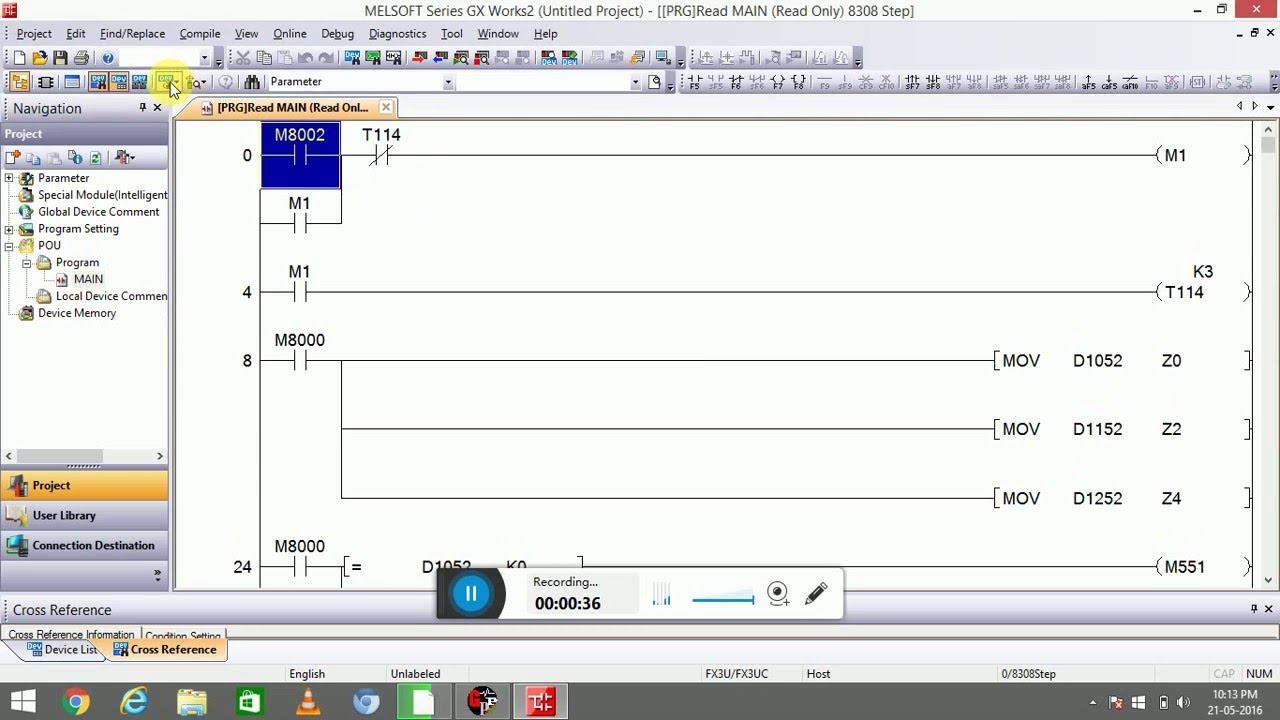 how to convert a gx programm to gx2 programm