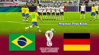 BRAZIL vs GERMANY FIFA WORLD CUP 2022 eFootball PES 2021