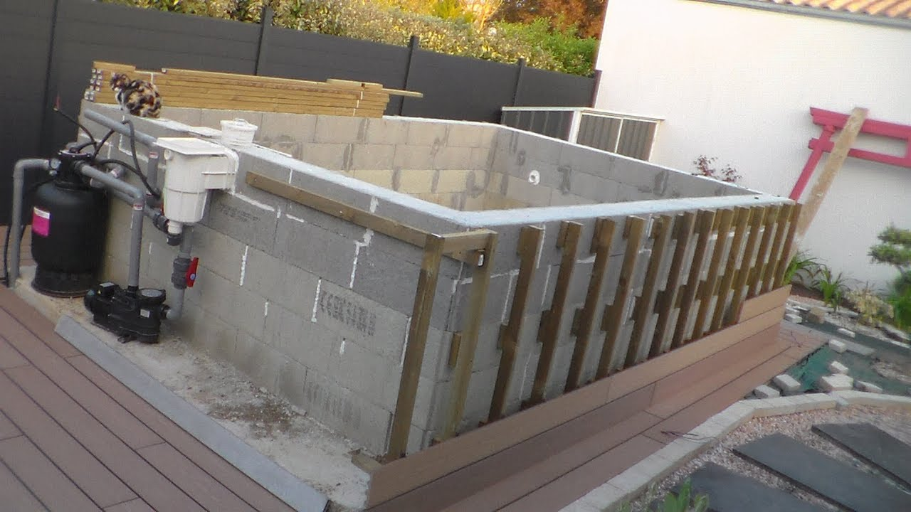 Comment Construire Une Piscine Comment Construire Sa Piscine Hors Sol How To Build Your Aboveground Pool