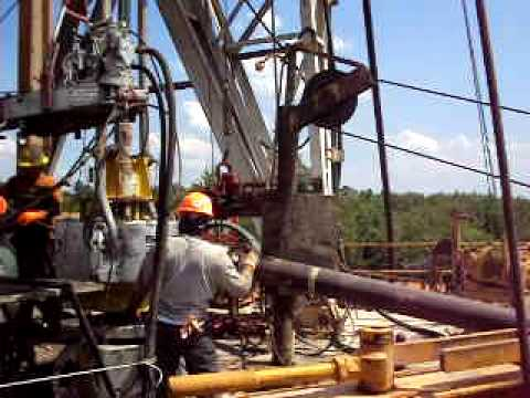 oil field laydown by T&T welding 003.AVI