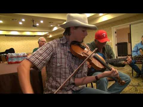 2017-10-13 Jamming Ridge Roberts plays Lily Dale - 2017 Bob Wills Fiddle Contest