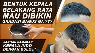 Bikin Cukuran Gradasi Di Kepala Indo French Crop Feat Ewok Youtube