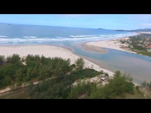 Barra de Ibiraquera - Imbituba - Santa Catarina (Imagens Aéreas)