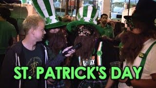 Joe Goes ST. PATRICK