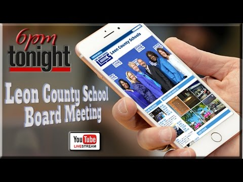 Leon County School Board Meeting