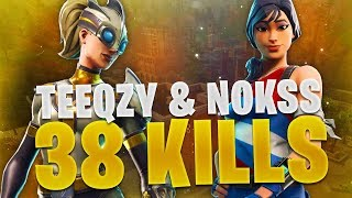 WORLD RECORD EN PLEIN TOURNOI ??? W/ NOKSS (FORTNITE BATTLE ROYALE GAMEPLAY)