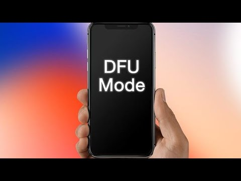 how to dfu mode/recovery mode iphone x, xs, x max, xr