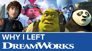 Why I Left DreamWorks Animation