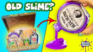 ABANDONED SLIME!? Making Slime From Old Treasure Box  Doctor Squish