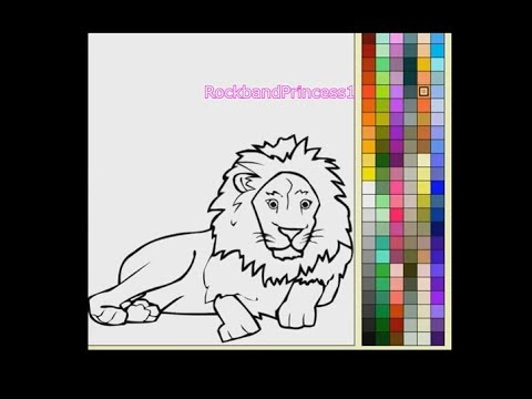 Animal Coloring Pages For Kids - Learn Color Animals For Kids - YouTube