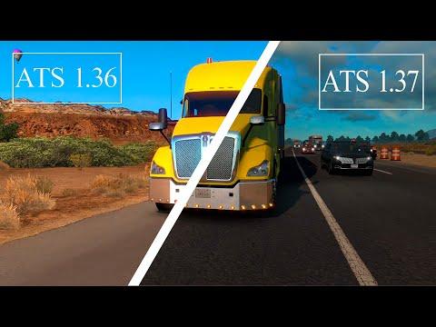 American Truck Simulator 1.37 VS 1.36 - SOUND TEST