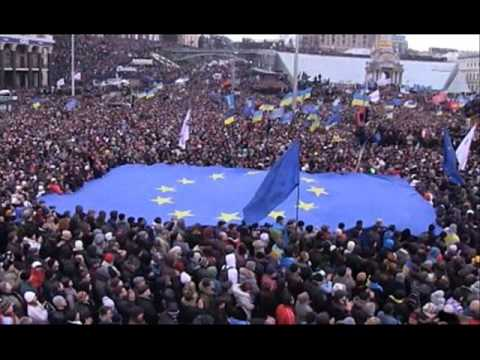 """Гімн Євромайдану   *(наша версія кліпу на пісню Діда Єгора """"В Європу"""")"""