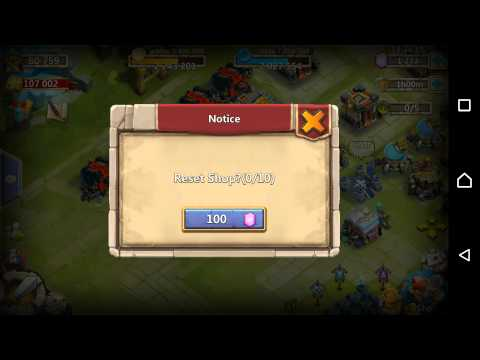 How To Refresh Your Warehouse On Castle Clash