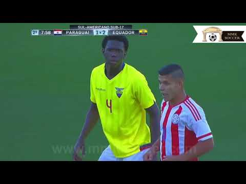Jackson Porozo: National Team Ecuador U17