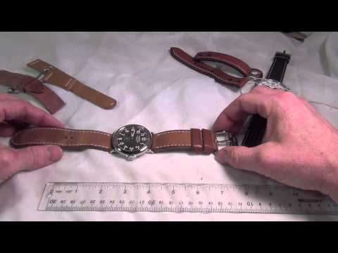 How to: Measure your wrist size and determine what length of strap you need.