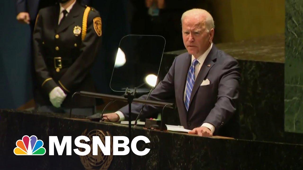 Download Unlike Trump, 'No One Was Laughing' At Joe Biden's UN Speech