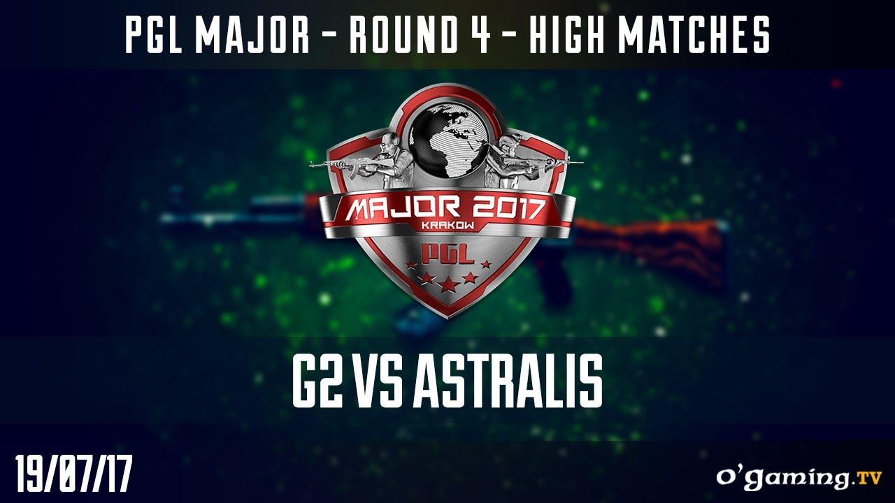 G2 vs Astralis - PGL Major Krakow 2017 - Round 4 High Matches - CS GO