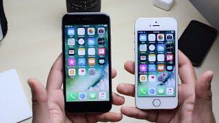 IPhone 5S IOS 11 Vs IPhone 6 IOS 11 (Beta 4)!
