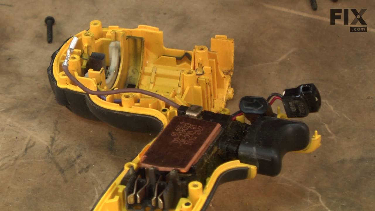 DeWALT Hammer Drill Repair – How to replace the Switch