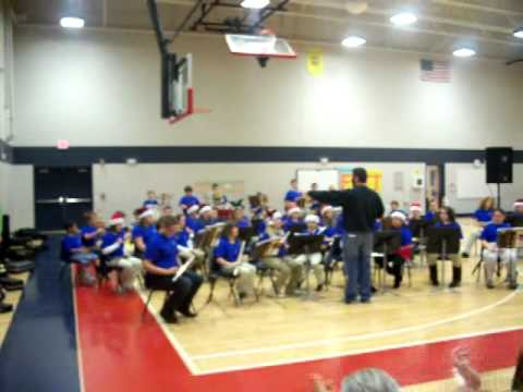1st Band Concert - 12/17/10 - Morgantown Elementary School