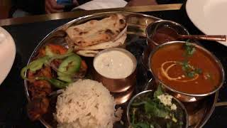 Indian Veg and Non Veg Thali in Vancouver