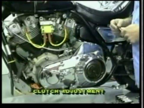 Harley ShovelHead Clutch adjustment - YouTube