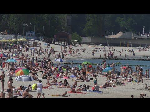 Пляжи Приморска и Светлогорска