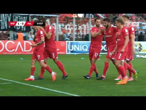 Widzew Łódź - Polonia Warszawa 1:0 - Bramka Kacpra Falona