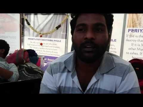 Rohith Vemula speaks