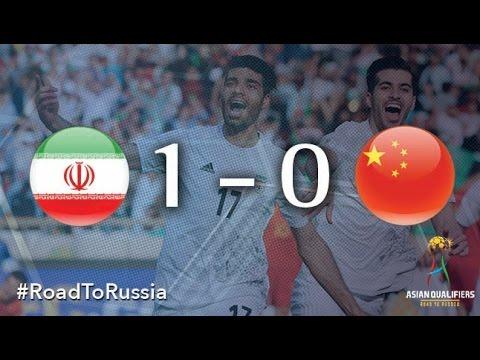 IR Iran vs China (Asian Qualifiers - Road To Russia)