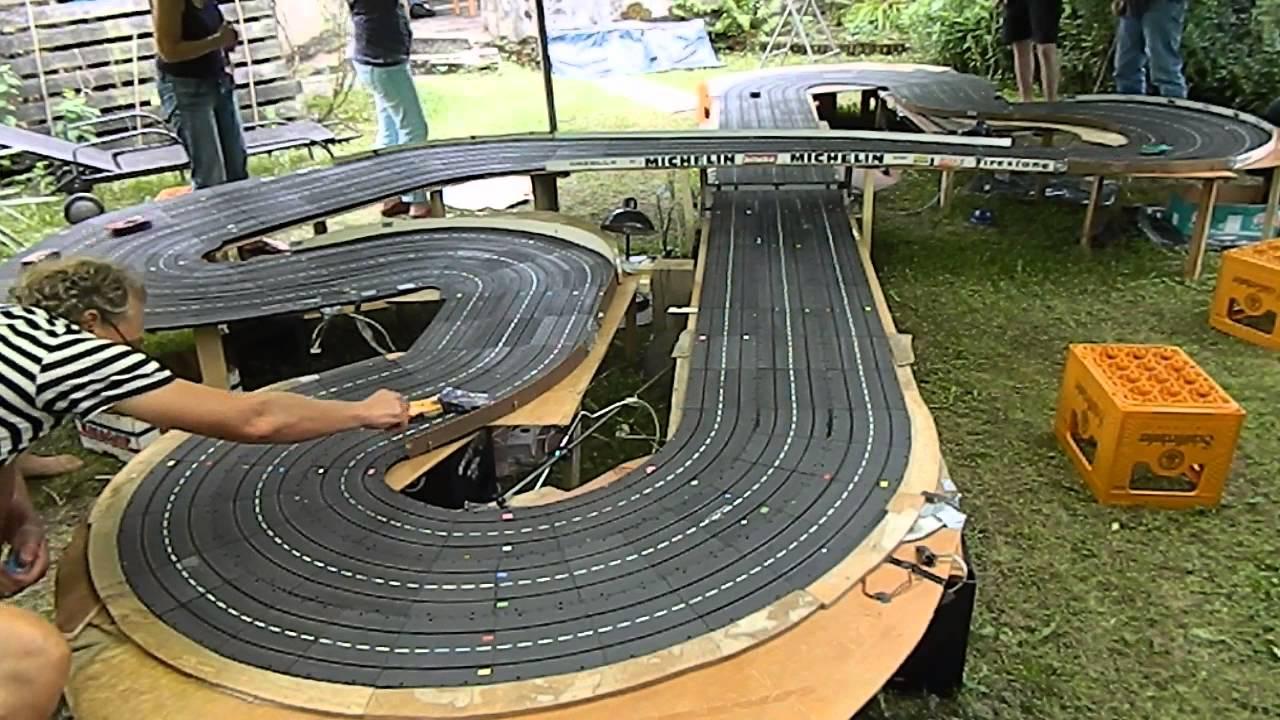 Carrera Universal Rennbahn 6 Spurig Youtube
