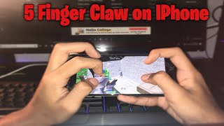 How To Get Used 5 Finger Claw On Iphone - Fortnite Mobile