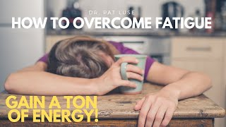 THE SCIENCE: How to Overcome Fatigue And Gain A Ton Of Energy, Boost Your Mitochondria [PART 4]